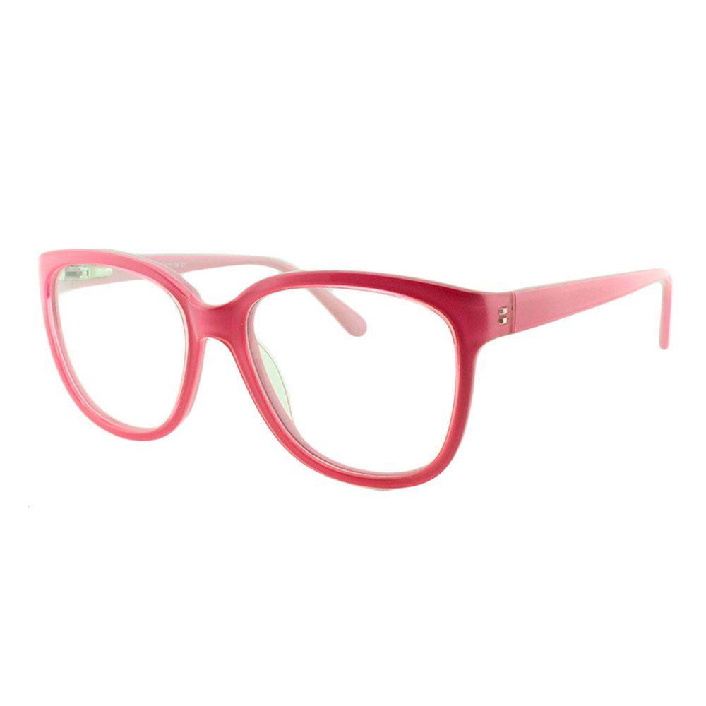 Armação para Óculos de Grau Feminino 17206 Rosa