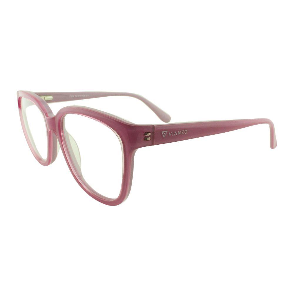 Armação para Óculos de Grau Feminino 17206 Rosa Vianzo