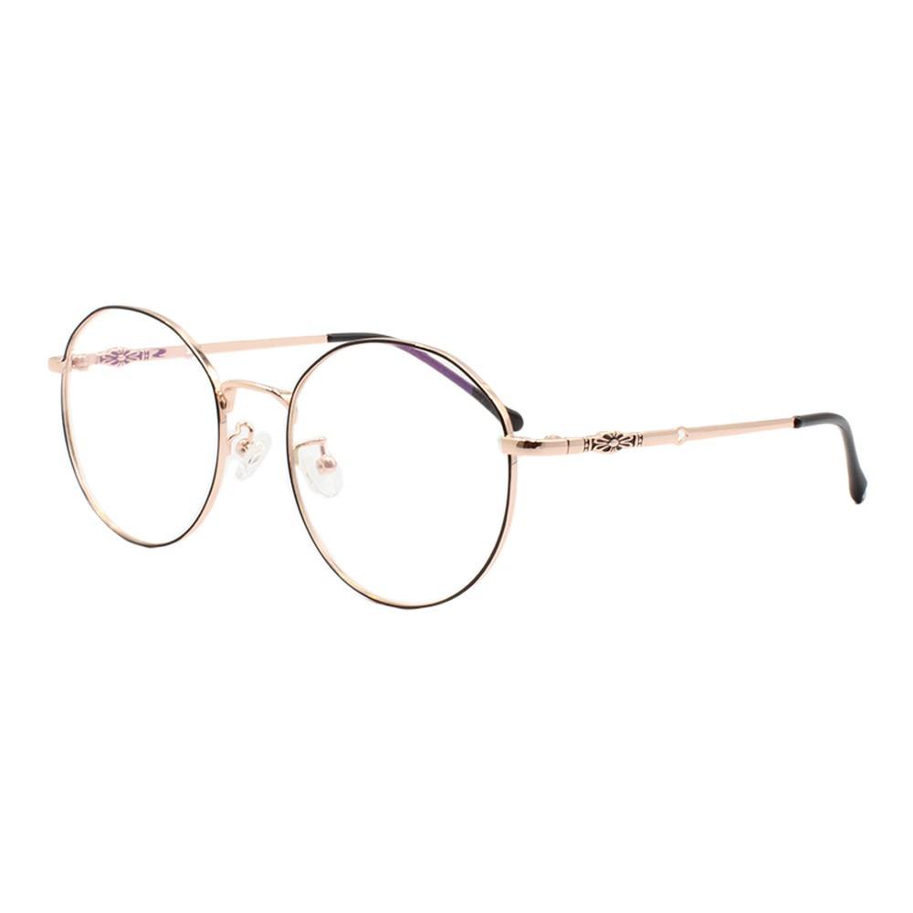 Armação para Óculos de Grau Feminino 2135 Preta e Dourada