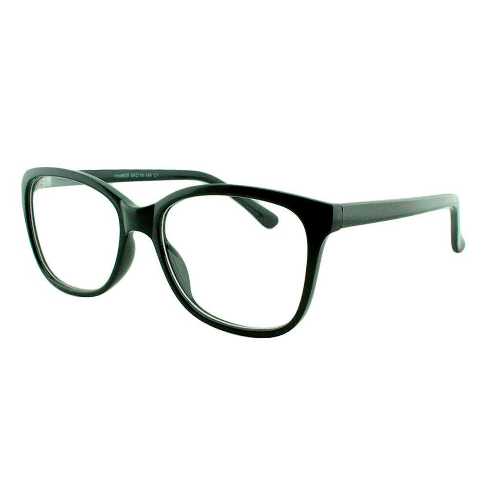 Armação para Óculos de Grau Feminino 25 Preta