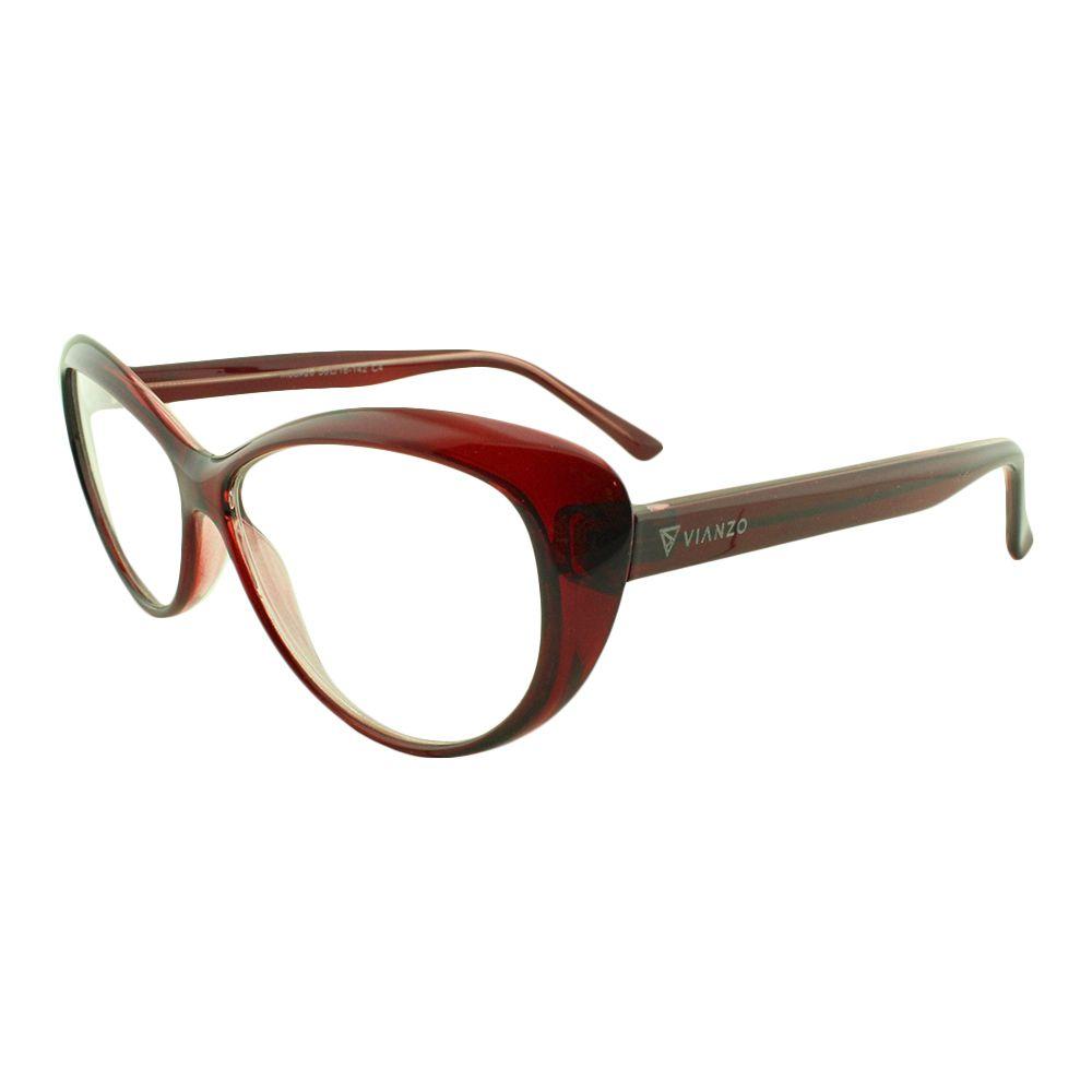 Armação para Óculos de Grau Feminino 26 Vinho Vianzo
