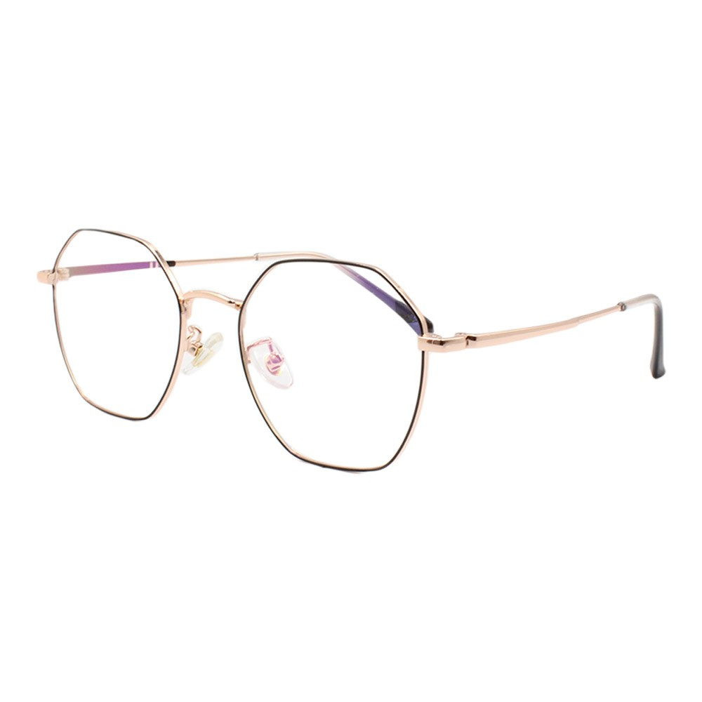 Armação para Óculos de Grau Feminino 5128 Dourada e Preta
