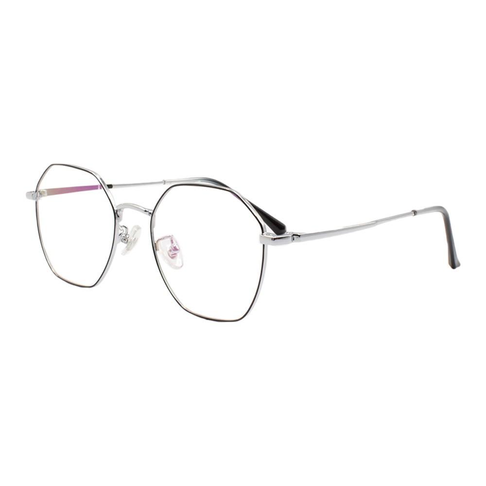 Armação para Óculos de Grau Feminino 5128 Prata e Preta