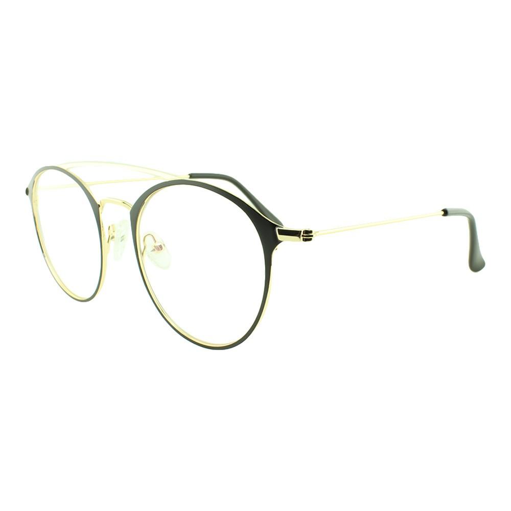 Armação para Óculos de Grau Feminino 5957 Dourada e Preta