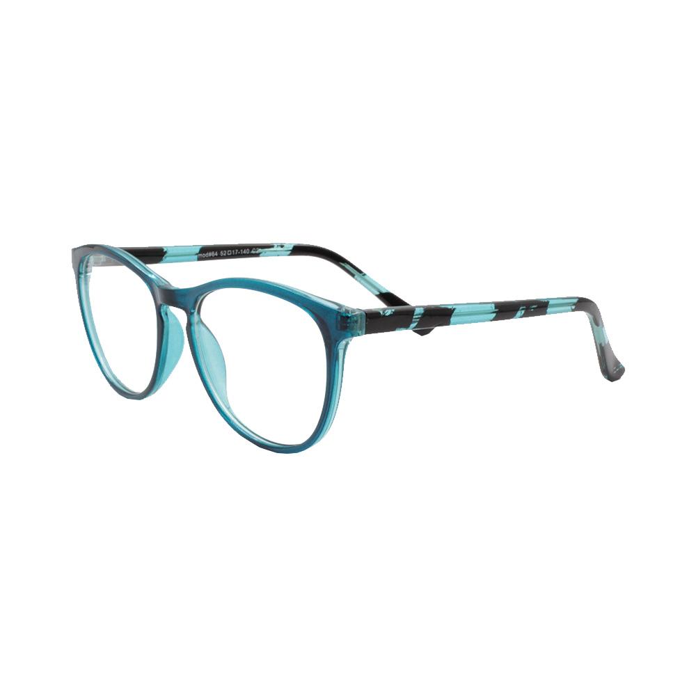 Armação para Óculos de Grau Feminino 64 Azul