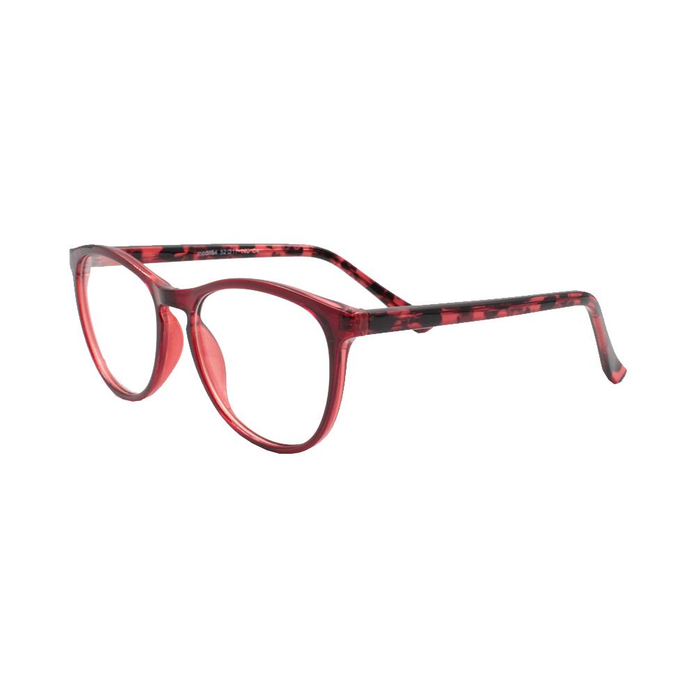 Armação para Óculos de Grau Feminino 64 Vermelha