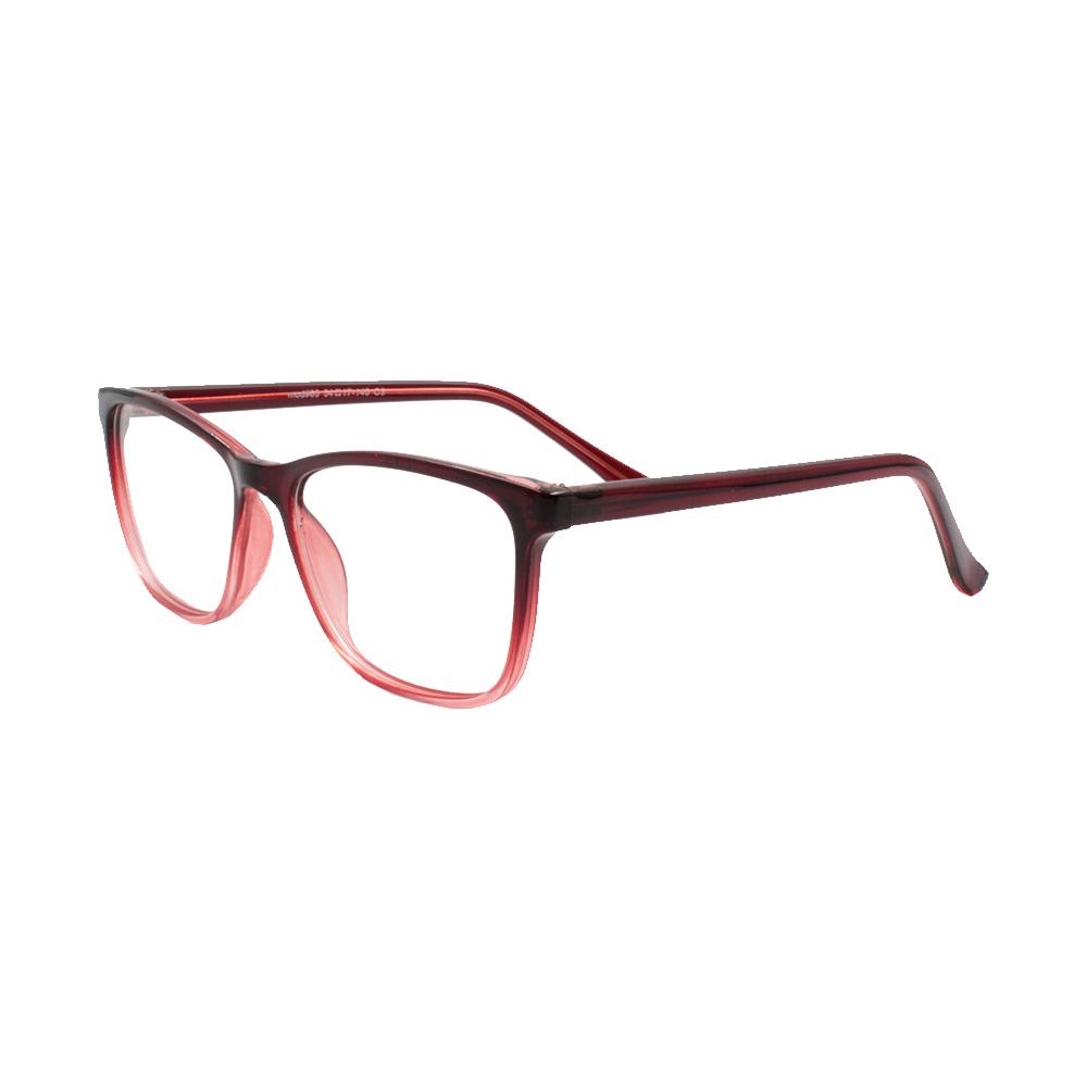 Armação para Óculos de Grau Feminino 65 Vermelha Degradê