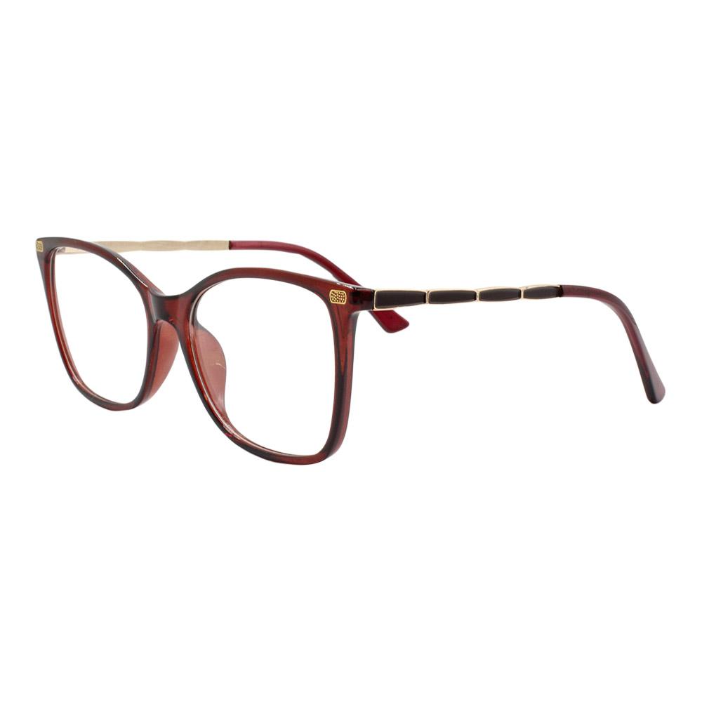 Armação para Óculos de Grau Feminino 6615 Marrom