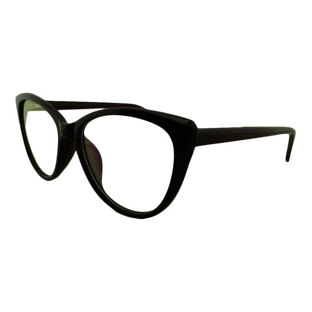 Armação para Óculos de Grau Feminino 68111 Preta