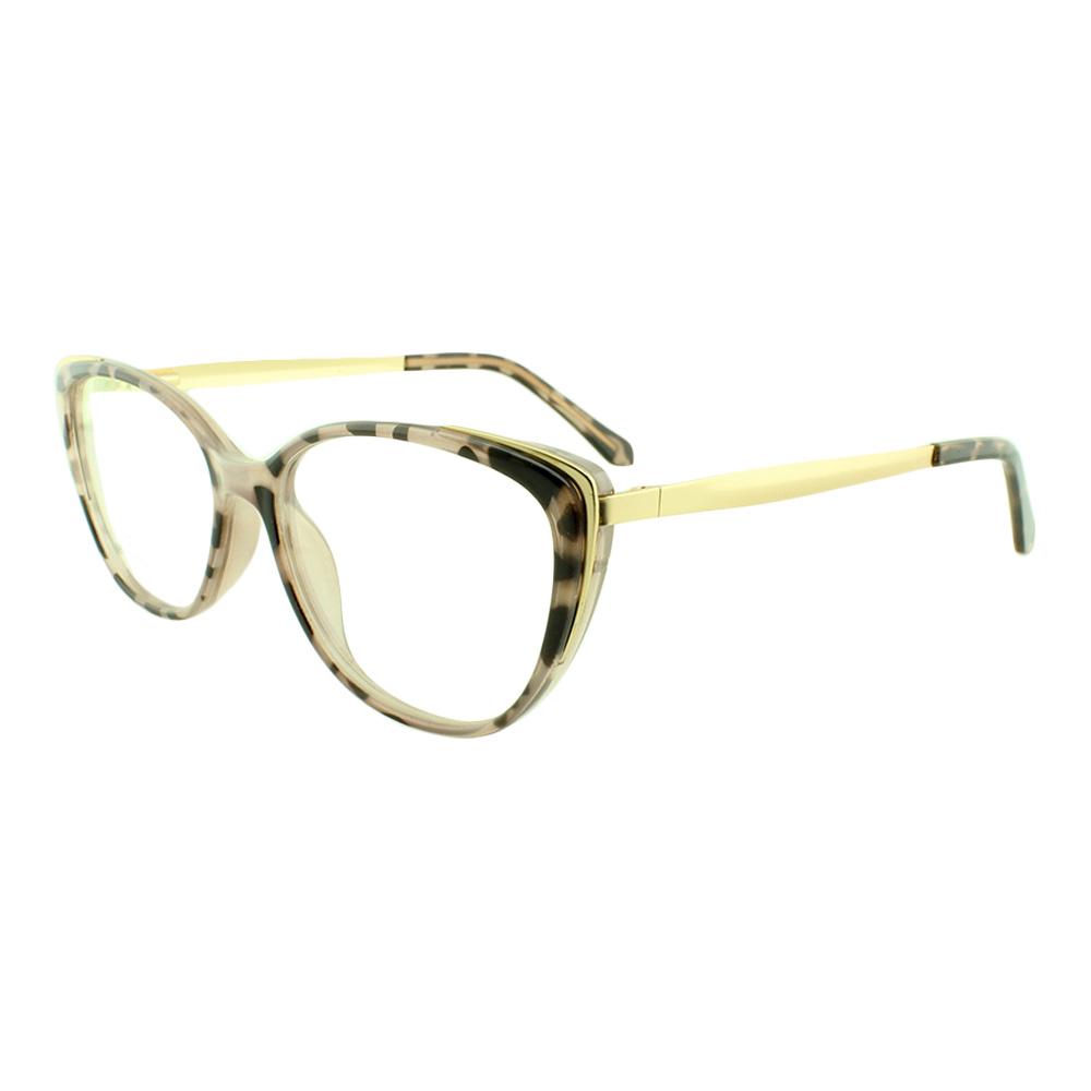 Armação para Óculos de Grau Feminino 68113 Rosa Mesclada