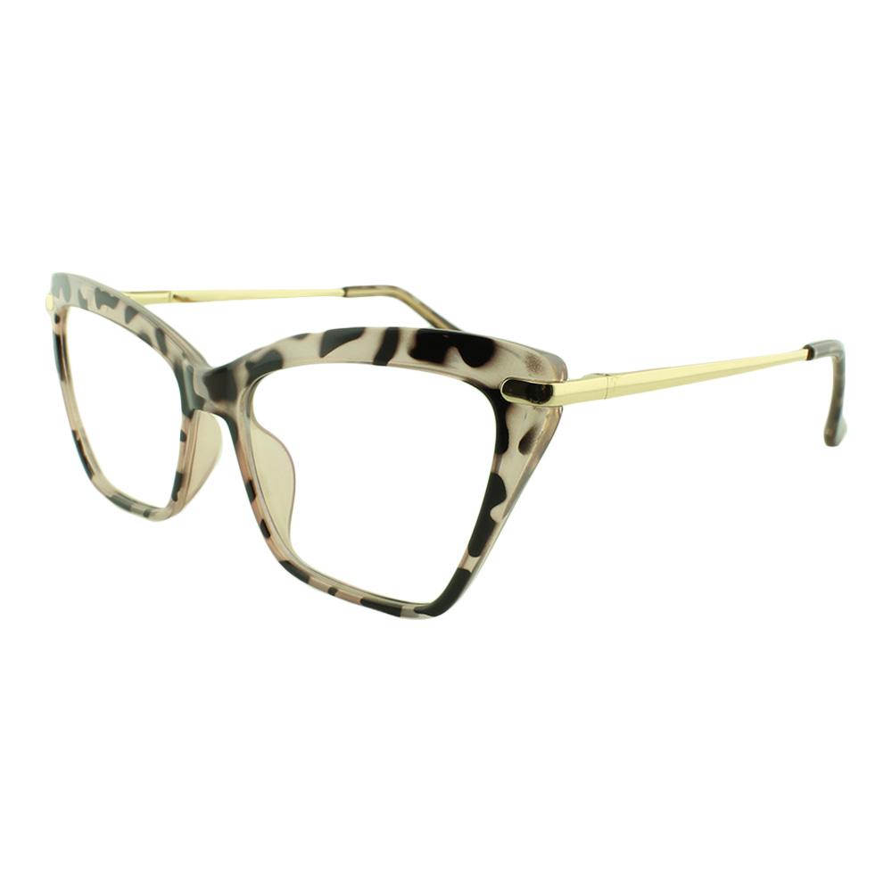 Armação para Óculos de Grau Feminino 68127 Rosa Mesclada