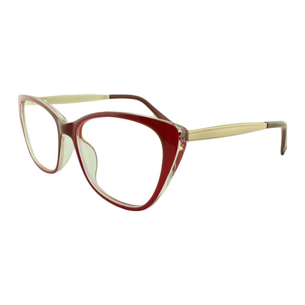 Armação para Óculos de Grau Feminino 68145 Vermelha