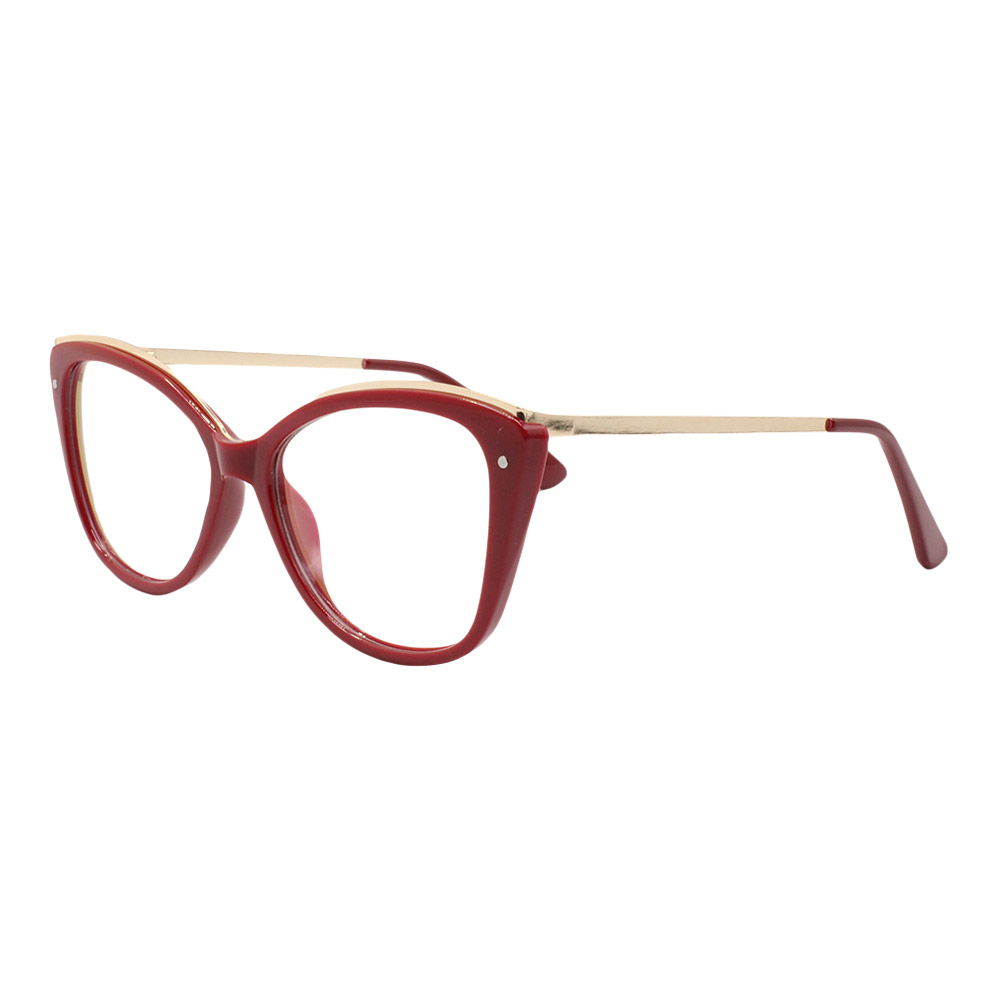 Armação para Óculos de Grau Feminino 68200 Vermelha