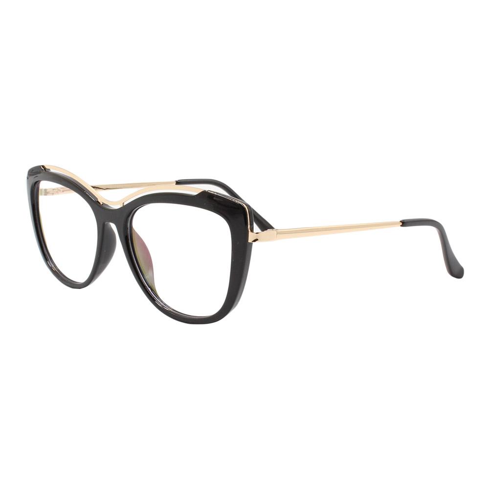 Armação para Óculos de Grau Feminino 68221 Preta