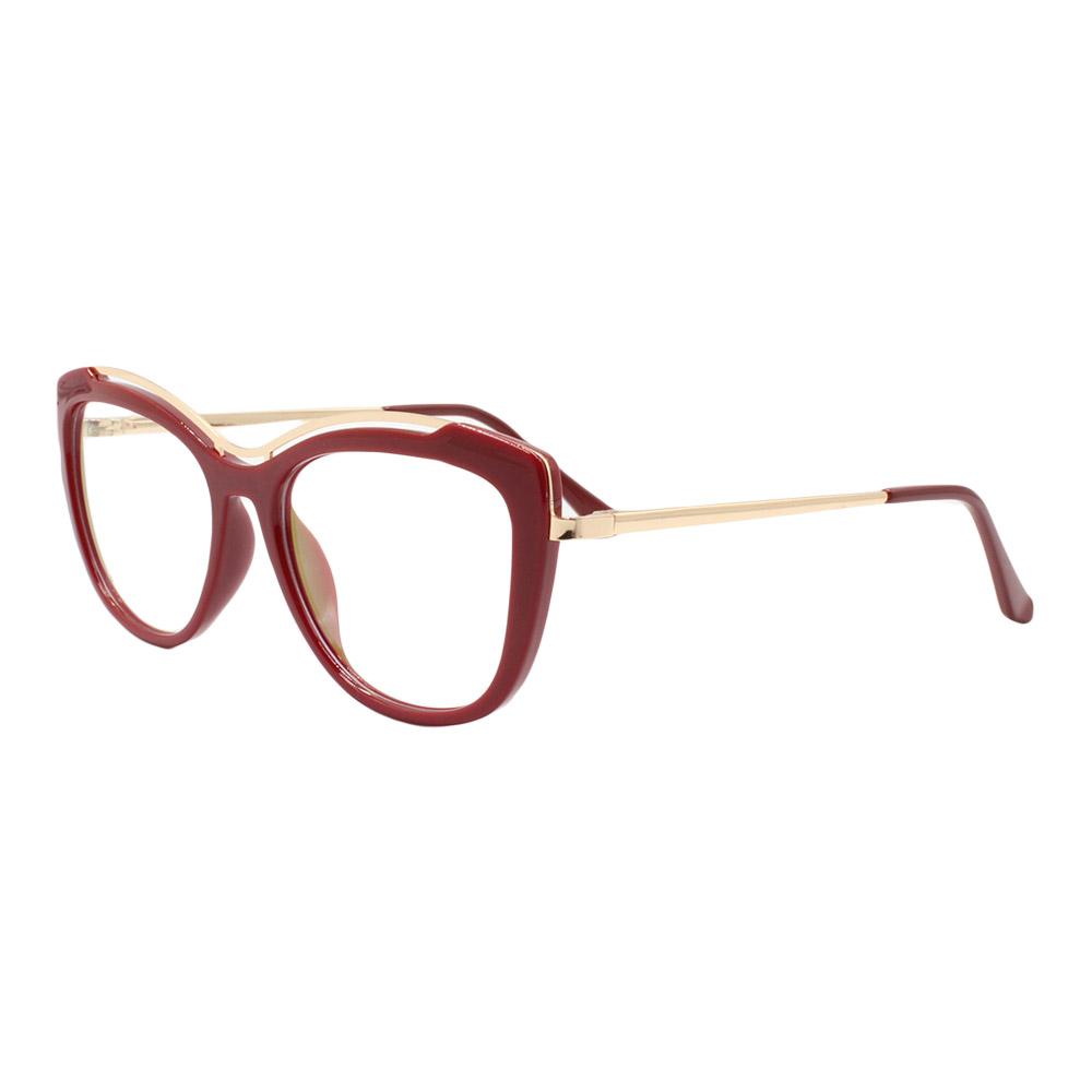 Armação para Óculos de Grau Feminino 68221 Vermelha