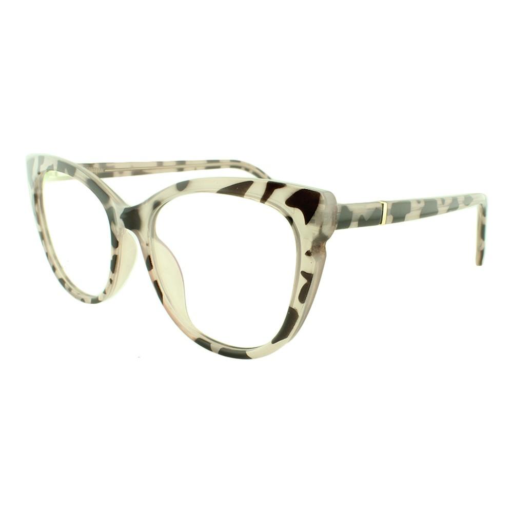 Armação para Óculos de Grau Feminino 68237 Rosa Mesclado