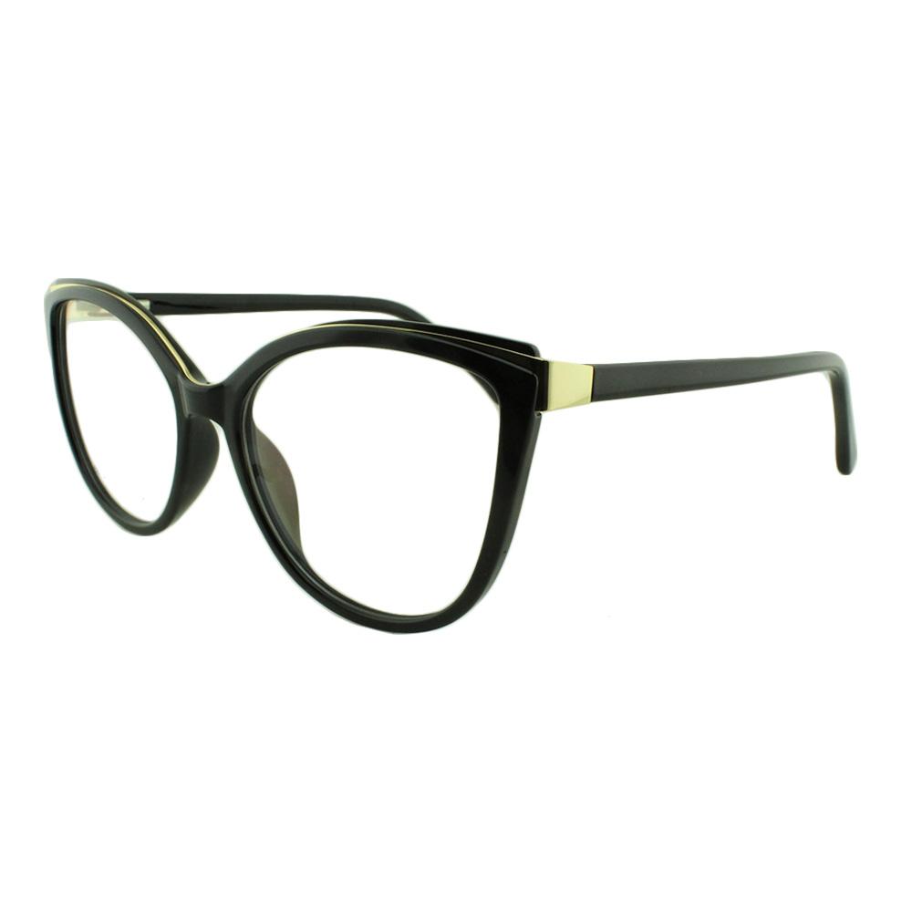 Armação para Óculos de Grau Feminino 68252 Preta
