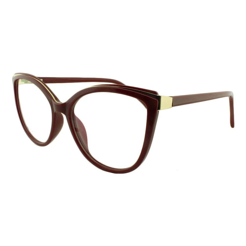 Armação para Óculos de Grau Feminino 68252 Vinho