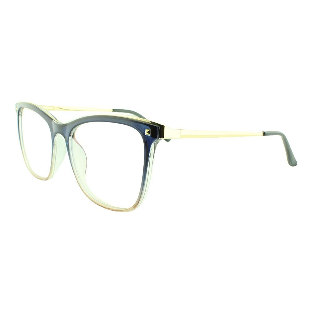 Armação para Óculos de Grau Feminino 68253 Azul Degradê