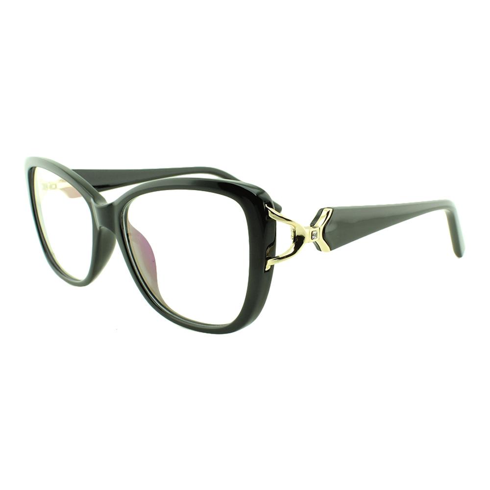 Armação para Óculos de Grau Feminino 68278 Preta