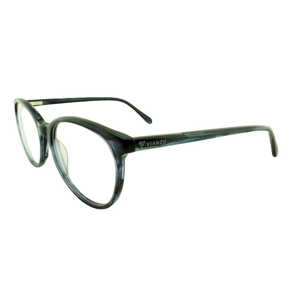 Armação para Óculos de Grau Feminino 8078 Azul Vianzo