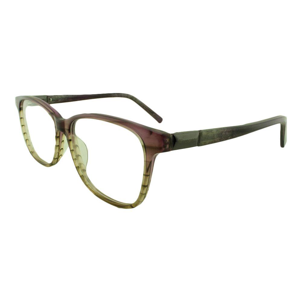 Armação para Óculos de Grau Feminino 8828 Lilás Degradê Vianzo