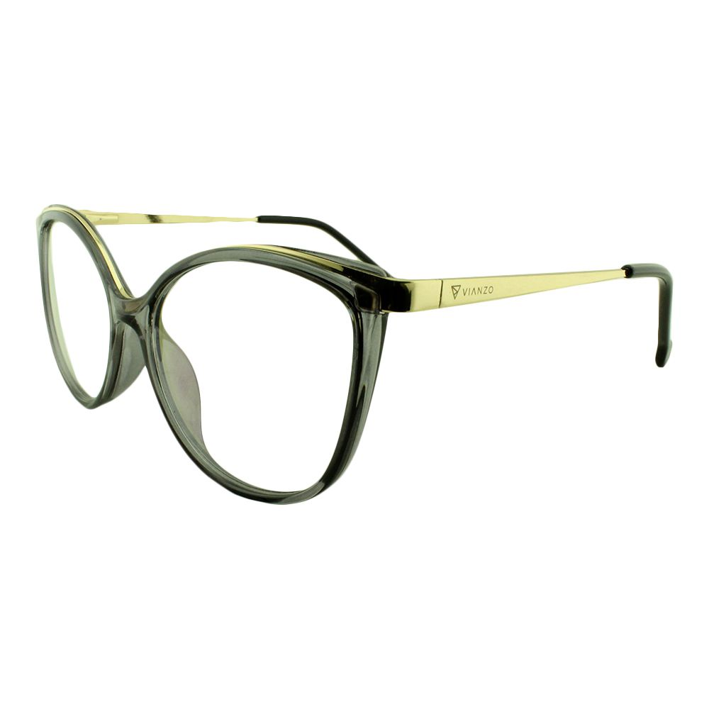 Armação para Óculos de Grau Feminino 9032 Fumê Vianzo