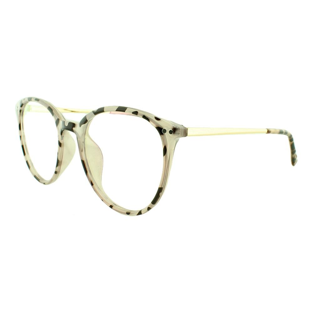 Armação para Óculos de Grau Feminino 9116 Rosa Mesclada
