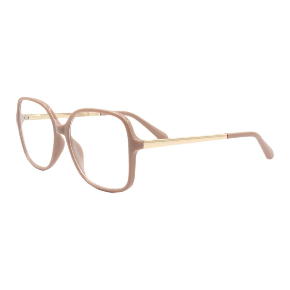 Armação para Óculos de Grau Feminino AL98124 Nude