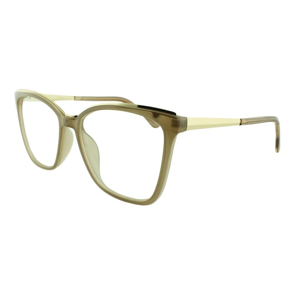 Armação para Óculos de Grau Feminino AL98135 Bege