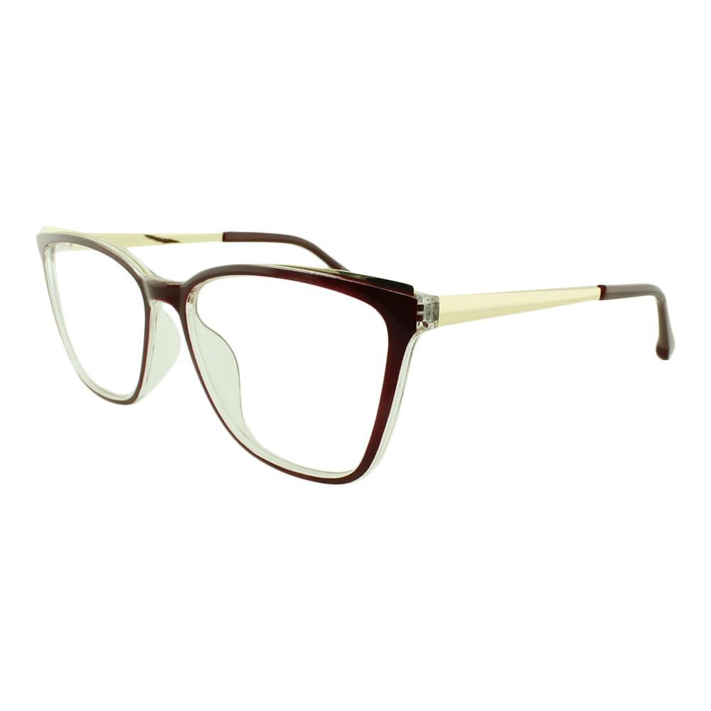 Armação para Óculos de Grau Feminino AL98137 Vinho
