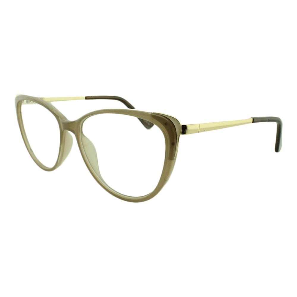 Armação para Óculos de Grau Feminino AL98144 Bege