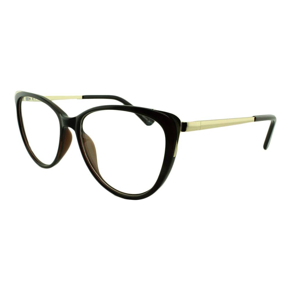 Armação para Óculos de Grau Feminino AL98144 Marrom