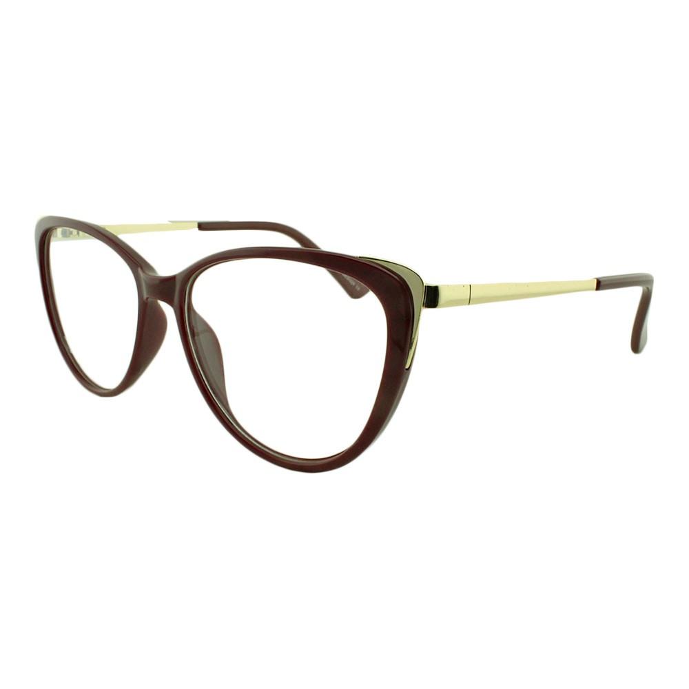 Armação para Óculos de Grau Feminino AL98144 Vinho