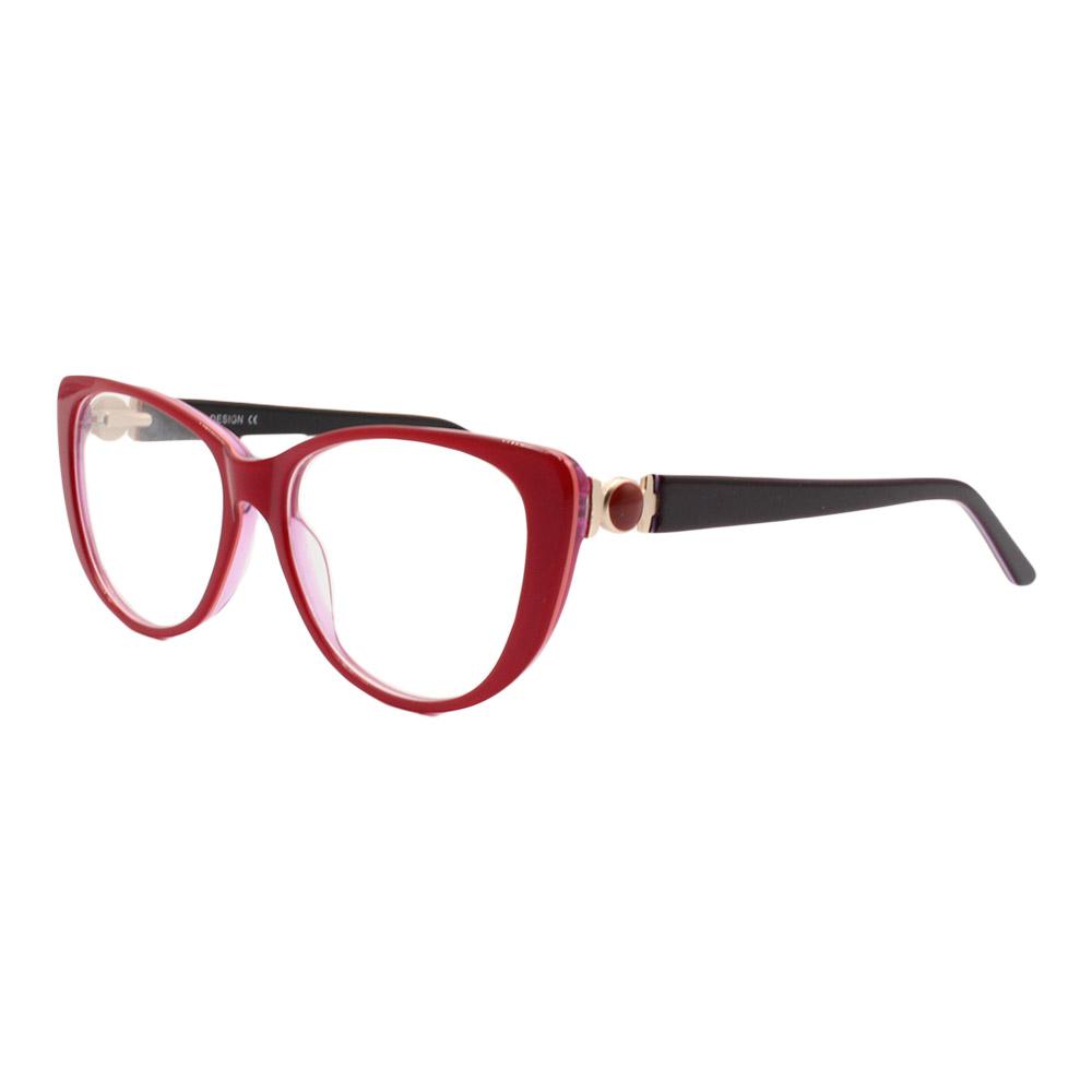 Armação para Óculos de Grau Feminino BC8185 Vermelha