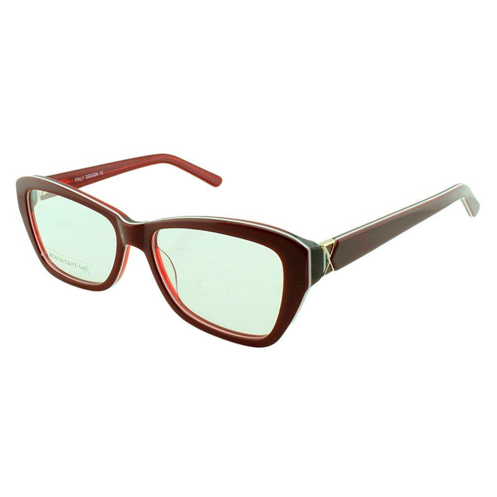 Armação para Óculos de Grau Feminino BC8199 Vermelha