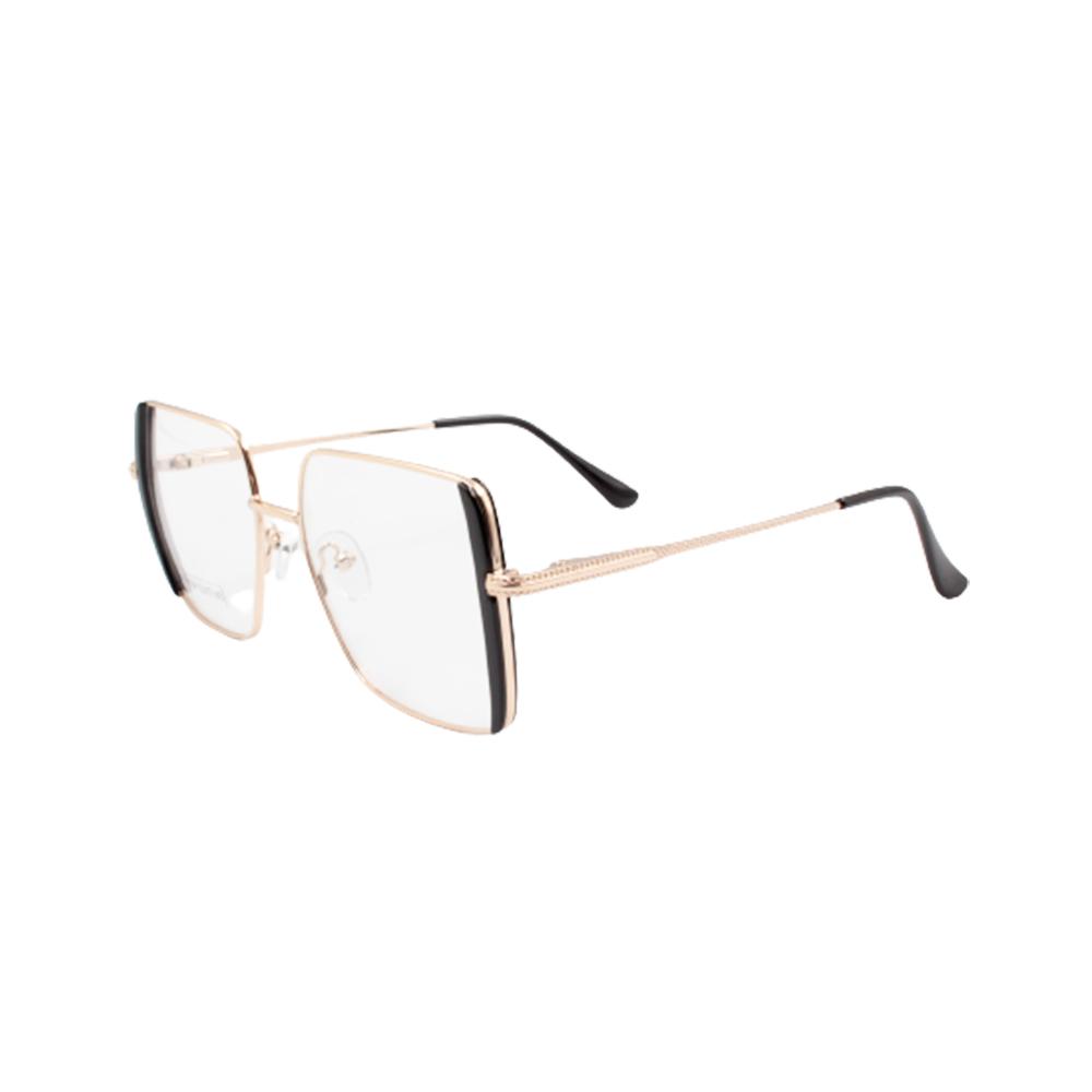 Armação para Óculos de Grau Feminino BR0784-C3 Dourada e Preta