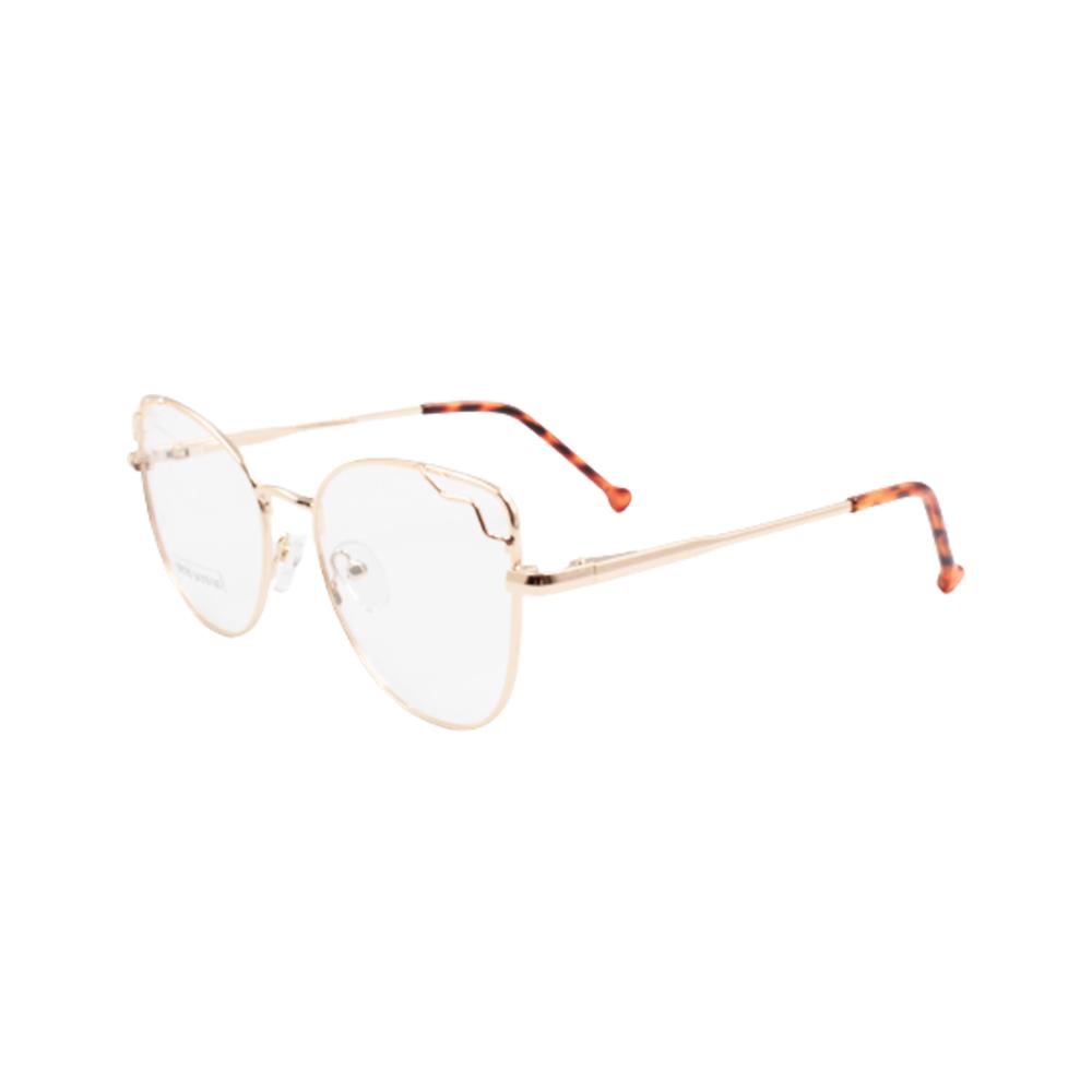 Armação para Óculos de Grau Feminino BR0785-C1 Dourada