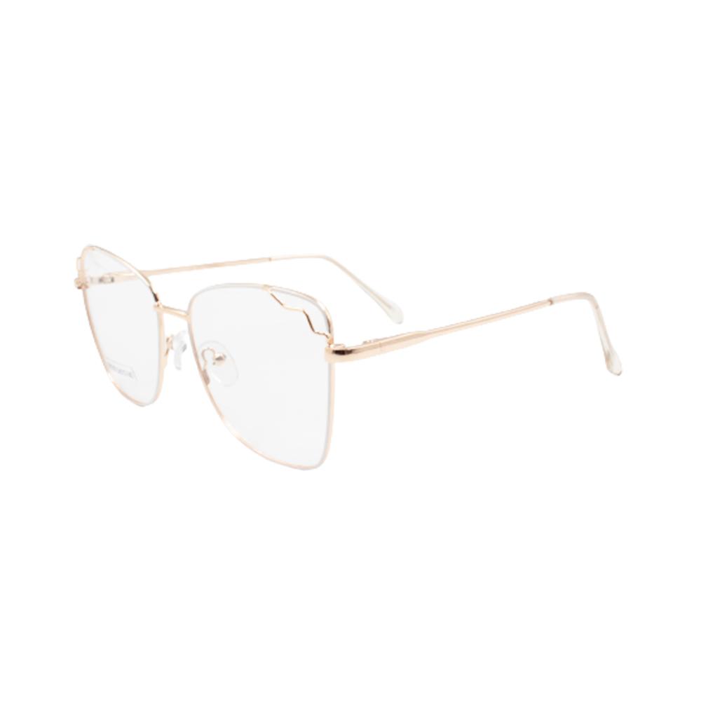 Armação para Óculos de Grau Feminino BR0786-C2 Dourada e Branca