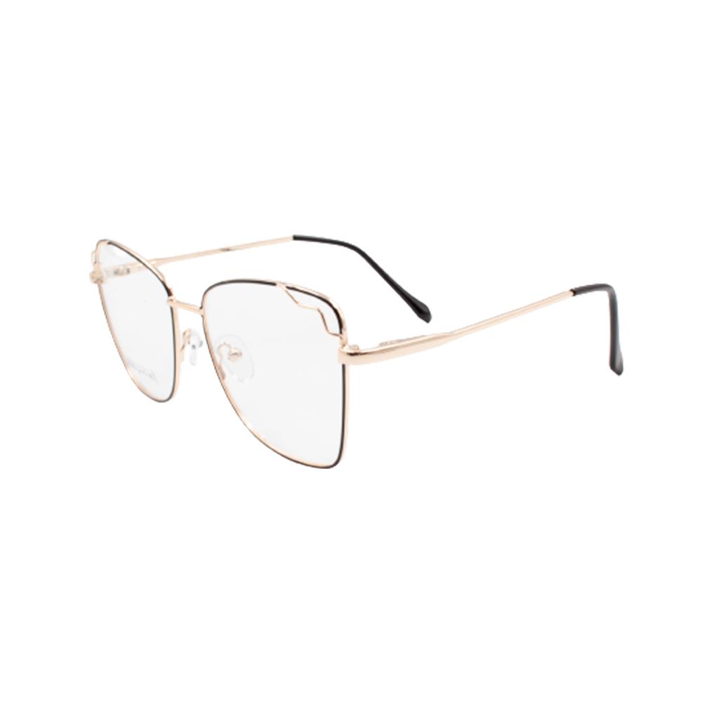 Armação para Óculos de Grau Feminino BR0786-C3 Dourada e Preta