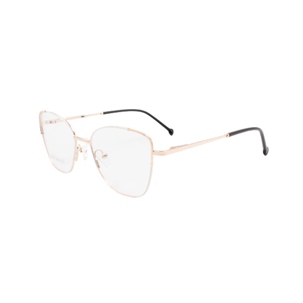 Armação para Óculos de Grau Feminino BR1007-C1 Dourada e Nude