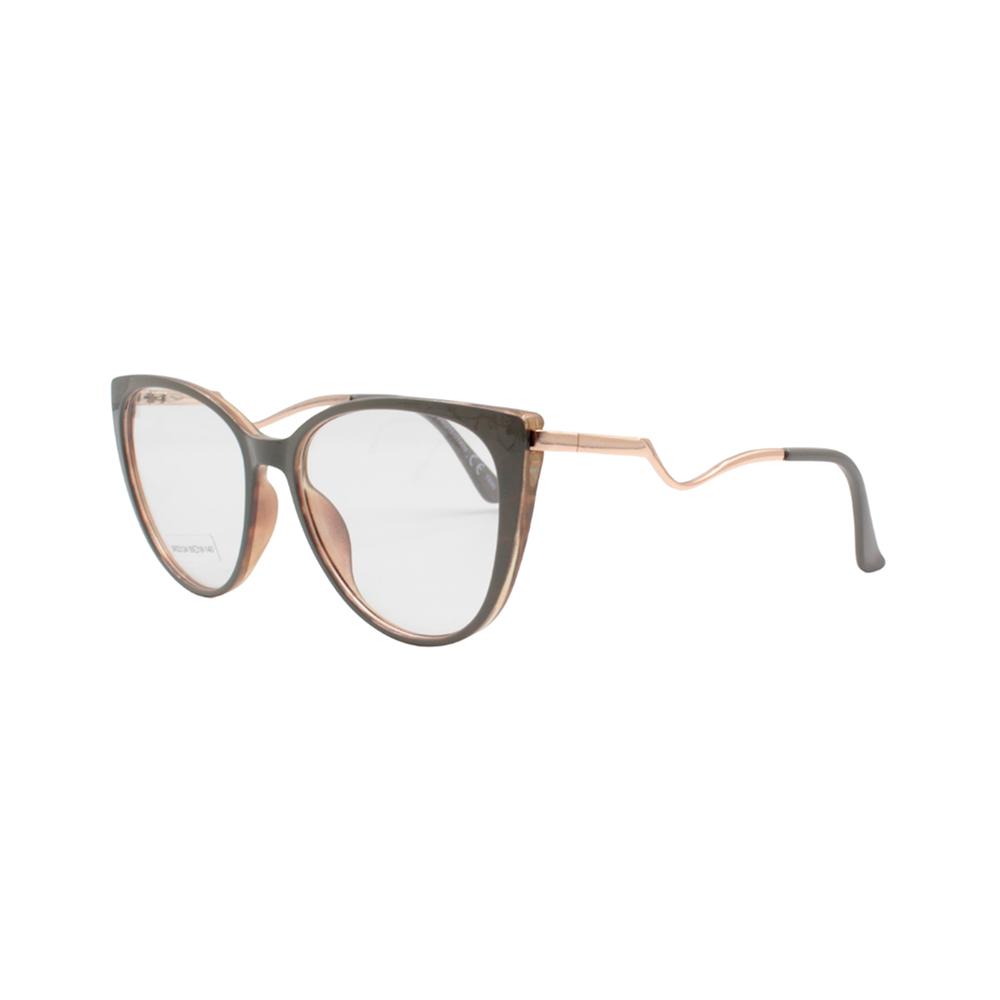 Armação para Óculos de Grau Feminino BR22124 Cinza