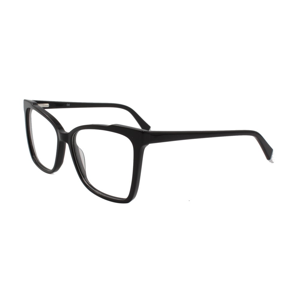 Armação para Óculos de Grau Feminino BR2503-C2 Preta em Acetato