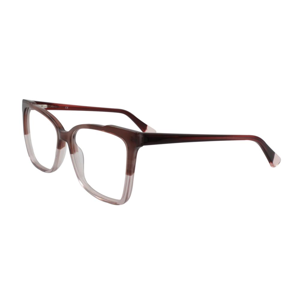 Armação para Óculos de Grau Feminino BR2503-C4 Roxa Degradê em Acetato