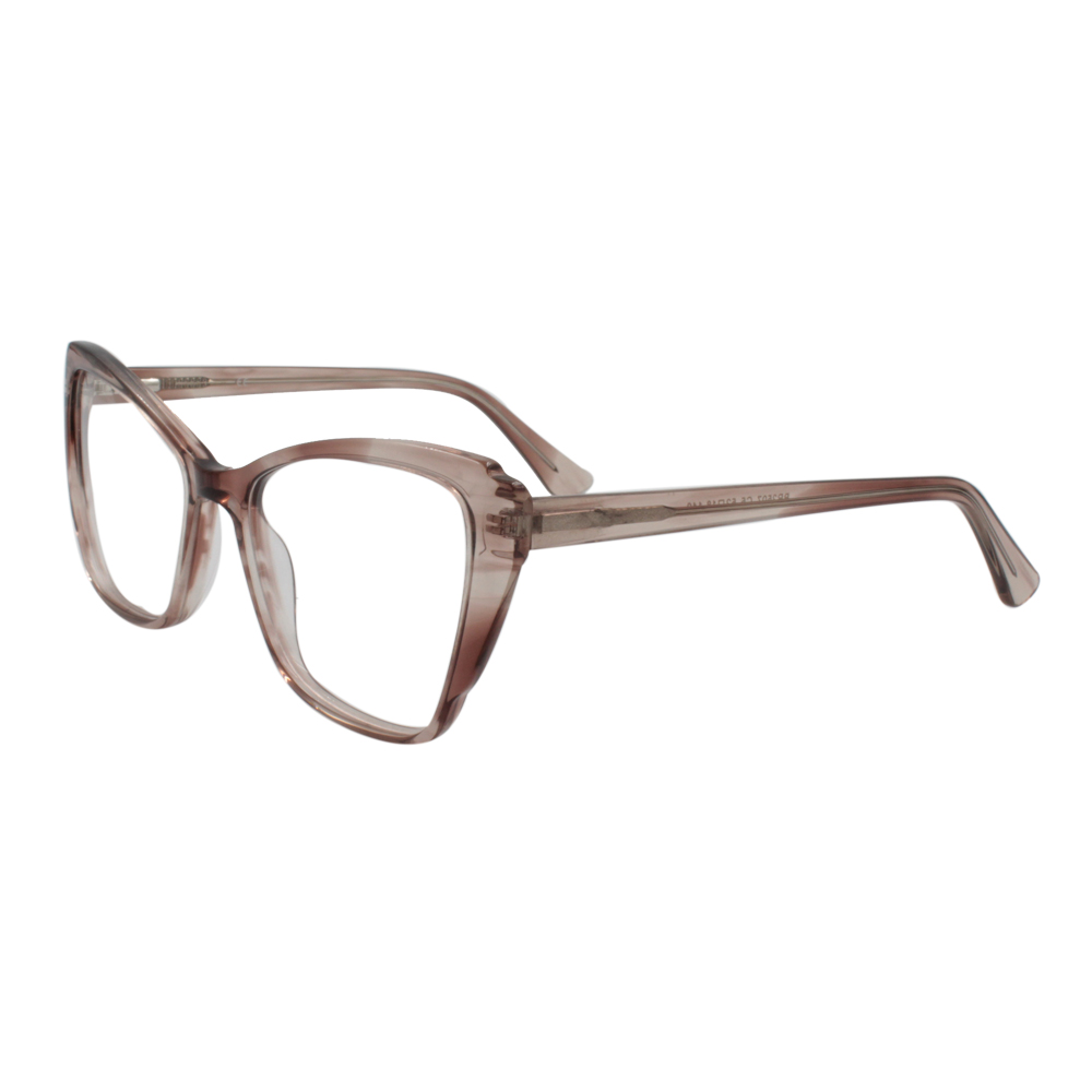 Armação para Óculos de Grau Feminino BR2507-C5 Marrom em Acetato