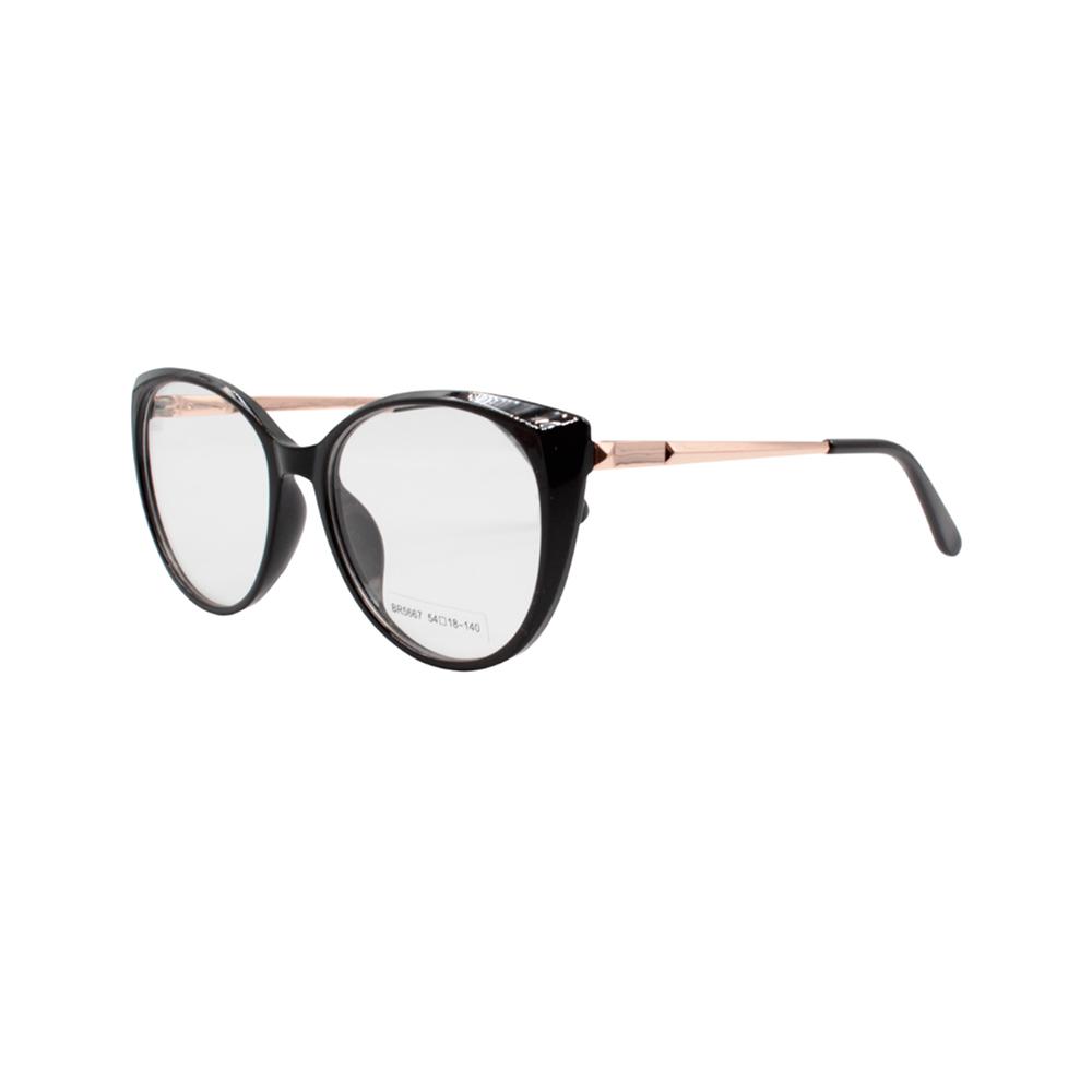 Armação para Óculos de Grau Feminino BR5667 Preta