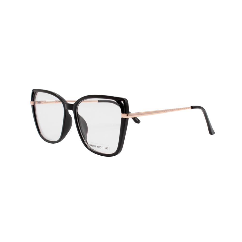 Armação para Óculos de Grau Feminino BR5712 Preta