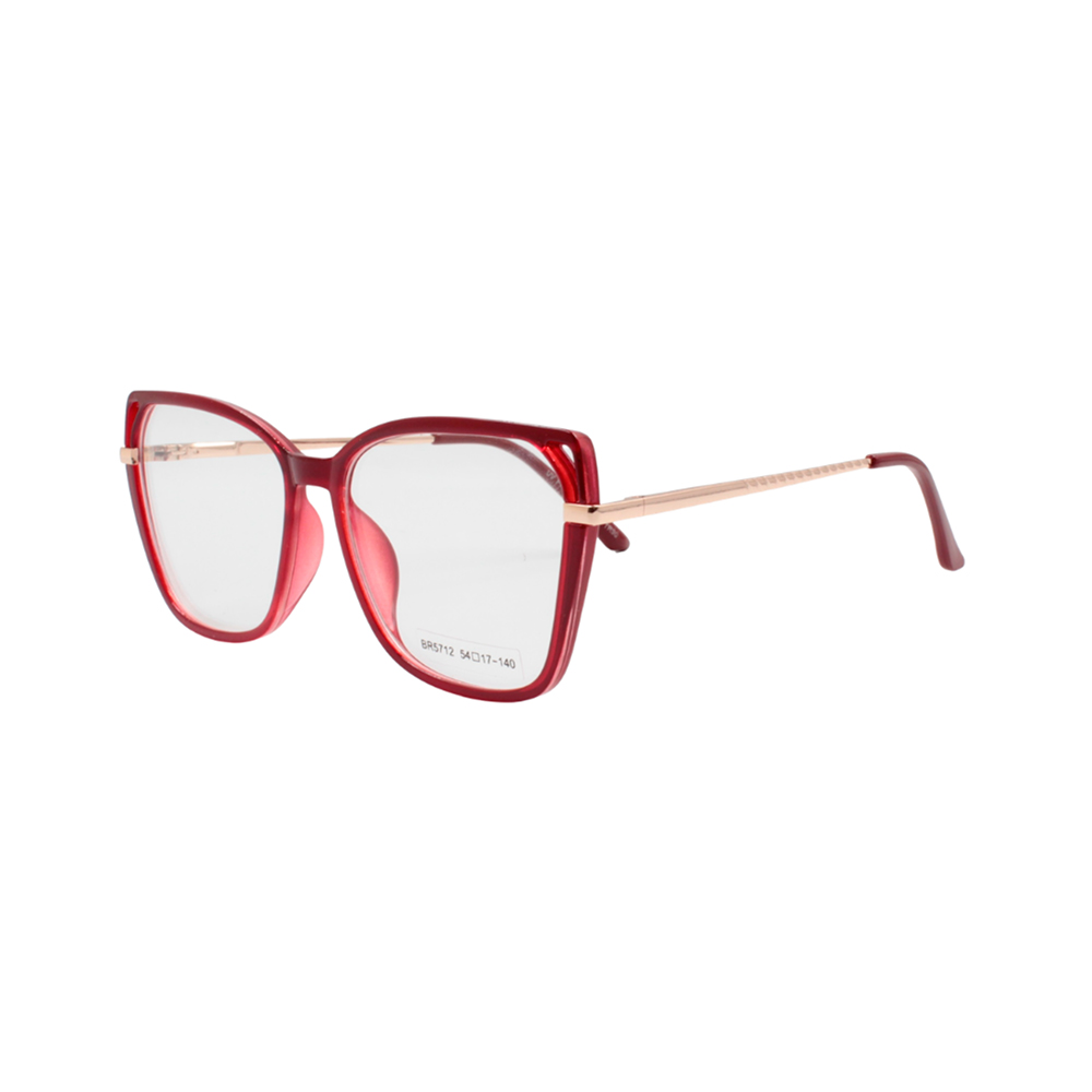 Armação para Óculos de Grau Feminino BR5712 Vermelha