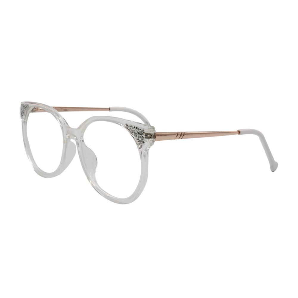 Armação para Óculos de Grau Feminino BR5734-C1 Transparente