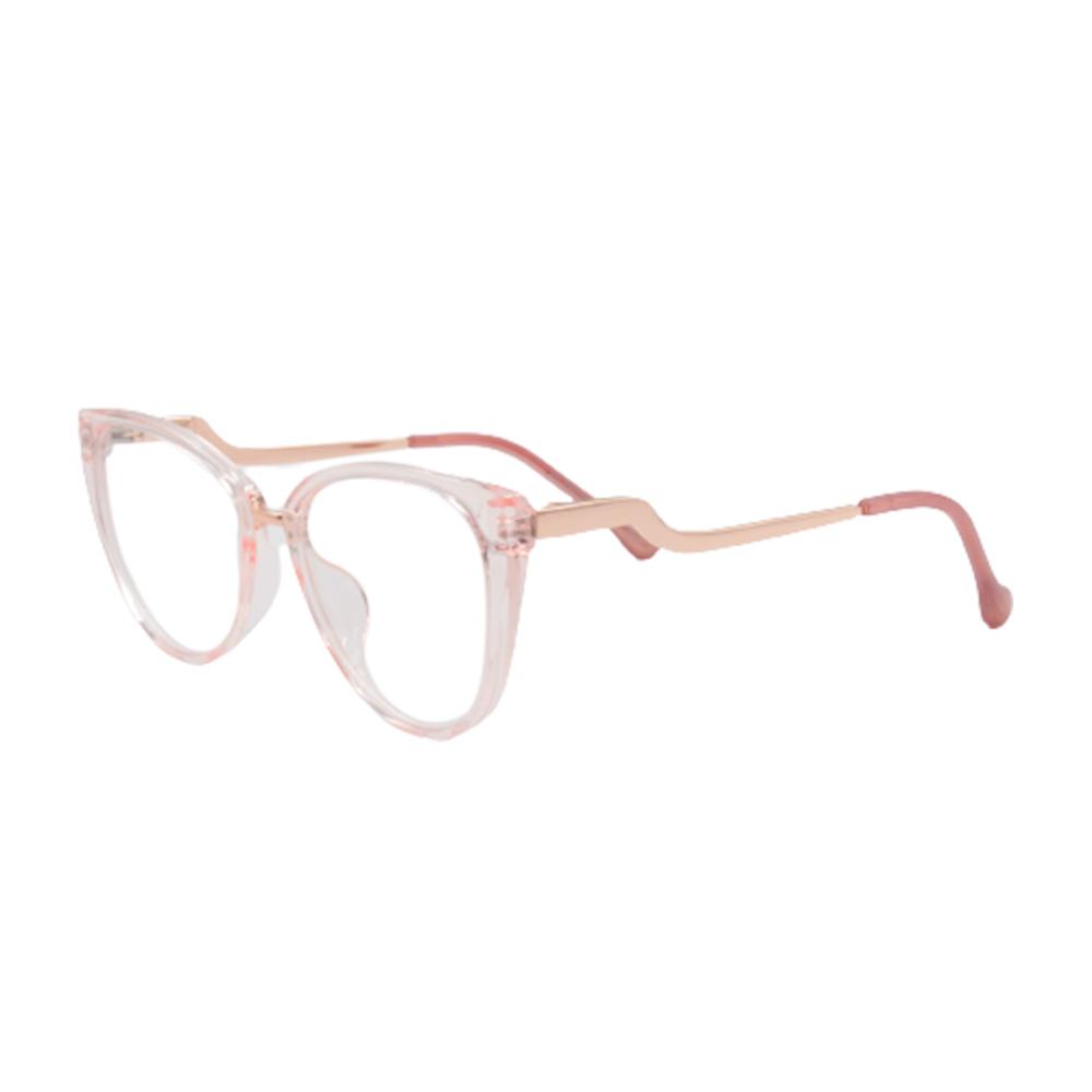 Armação para Óculos de Grau Feminino BR5741-C4 Rosa Claro